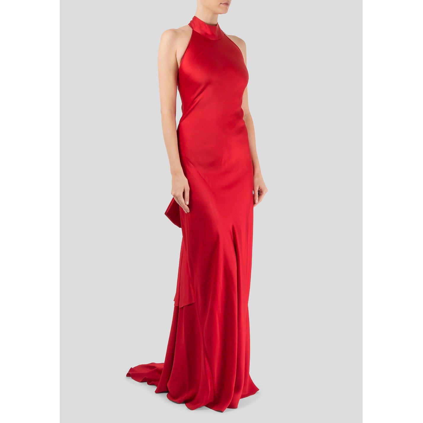 Maria Grachvogel Juno Satin Crepe Gown