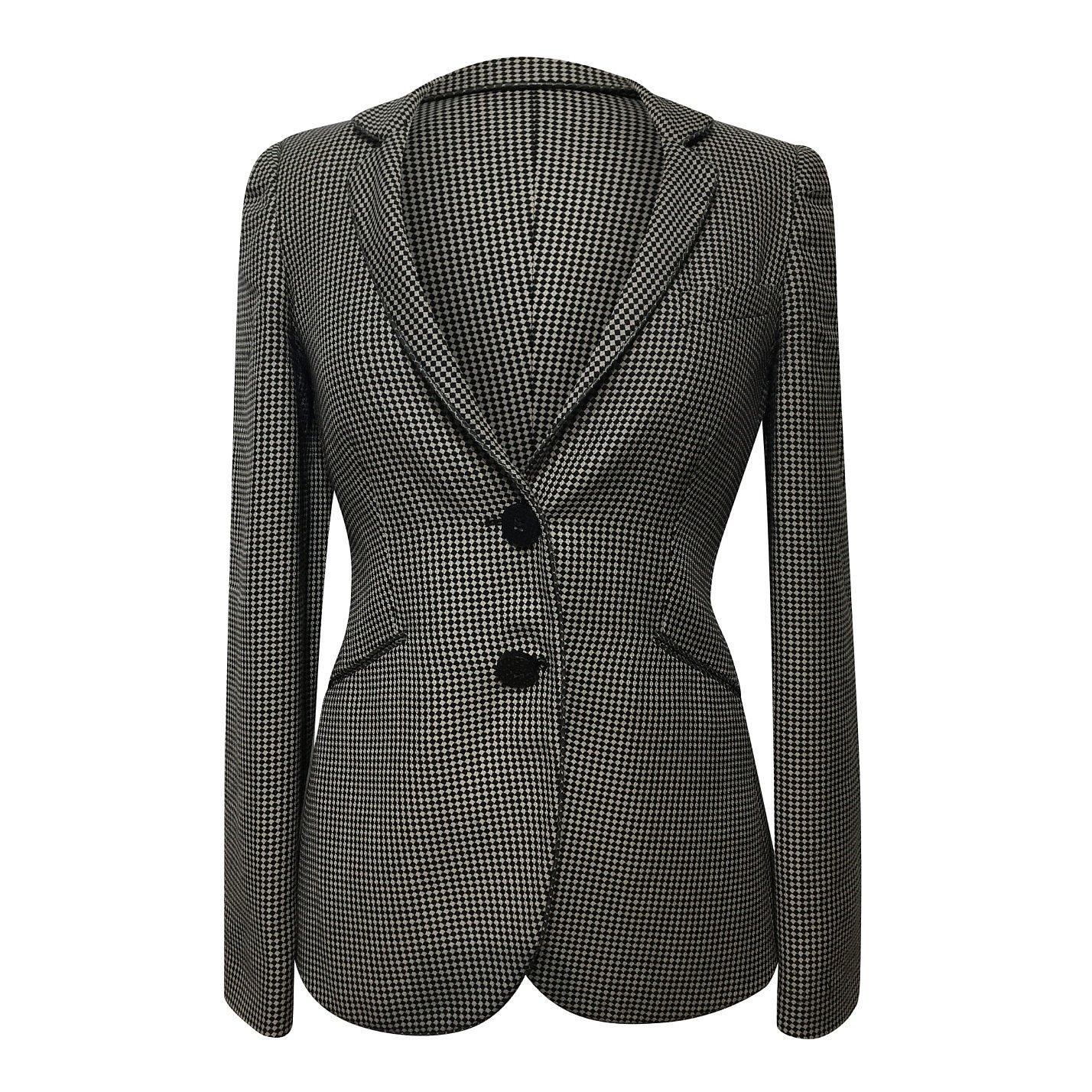 Emporio Armani Check Blazer