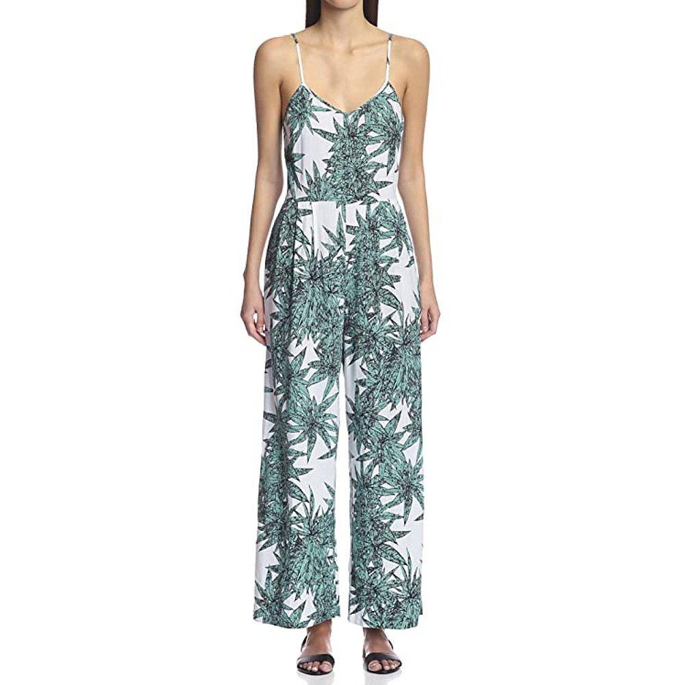 Mara Hoffman Harvest Leaf Jumpsuit