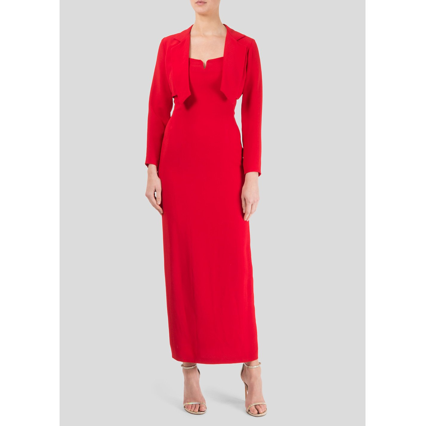 Ben De Lisi Gown With Cropped Jacket