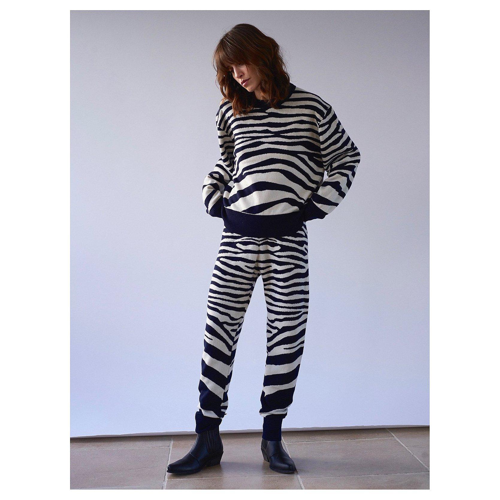 Sykes London Phoebe Zebra Sweater