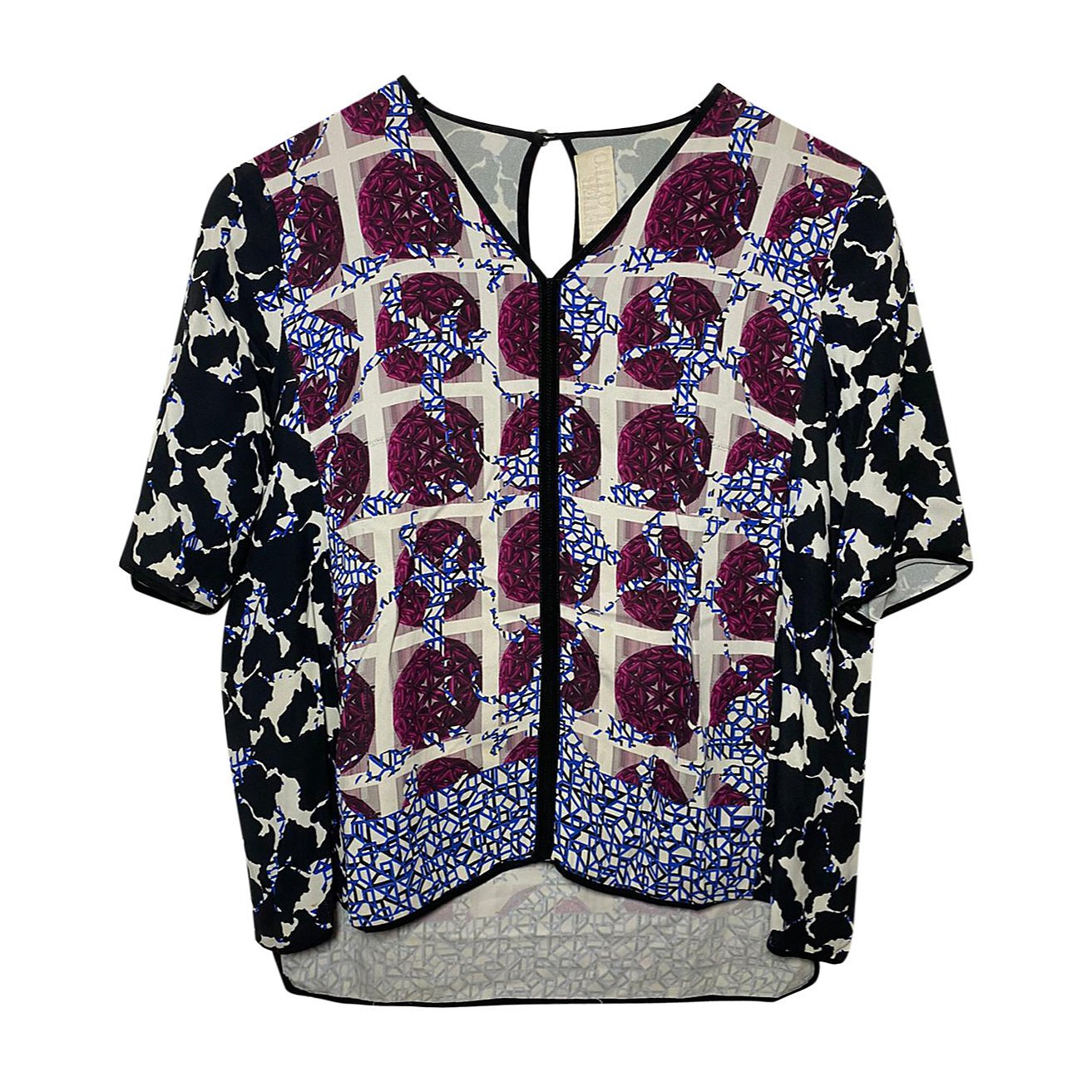 Peter Pilotto Patterned Blouse