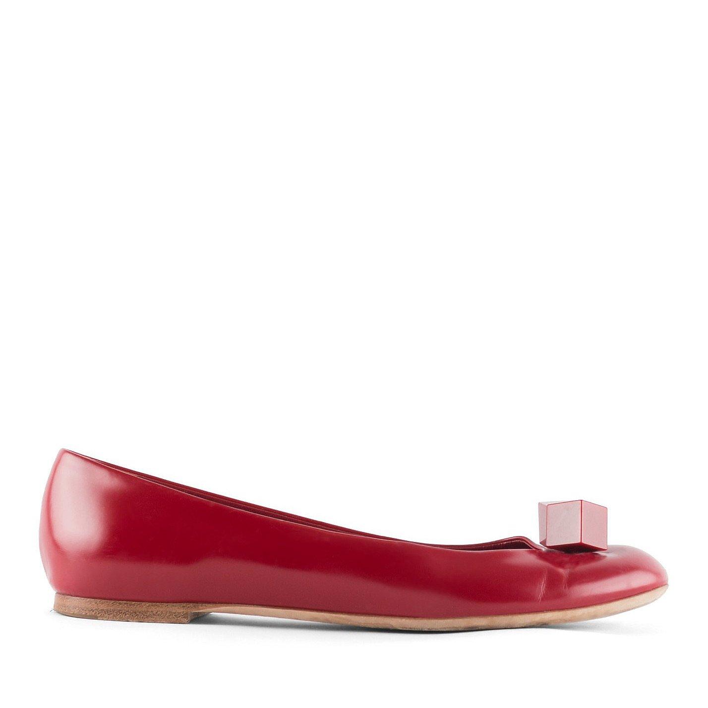Louis Vuitton Dice Detail Ballet Flats