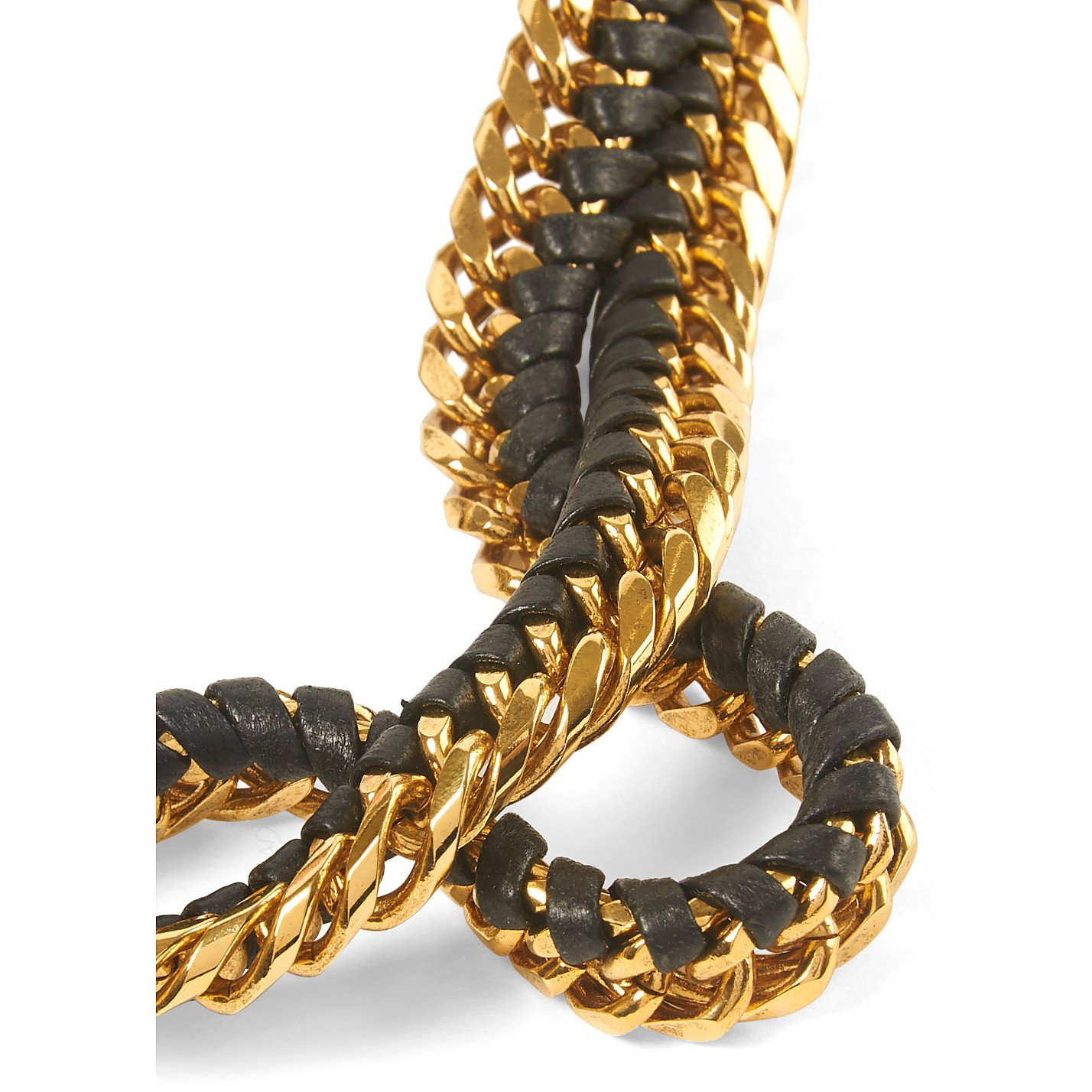 Lizzie Fortunato Double Chain Gold Necklace