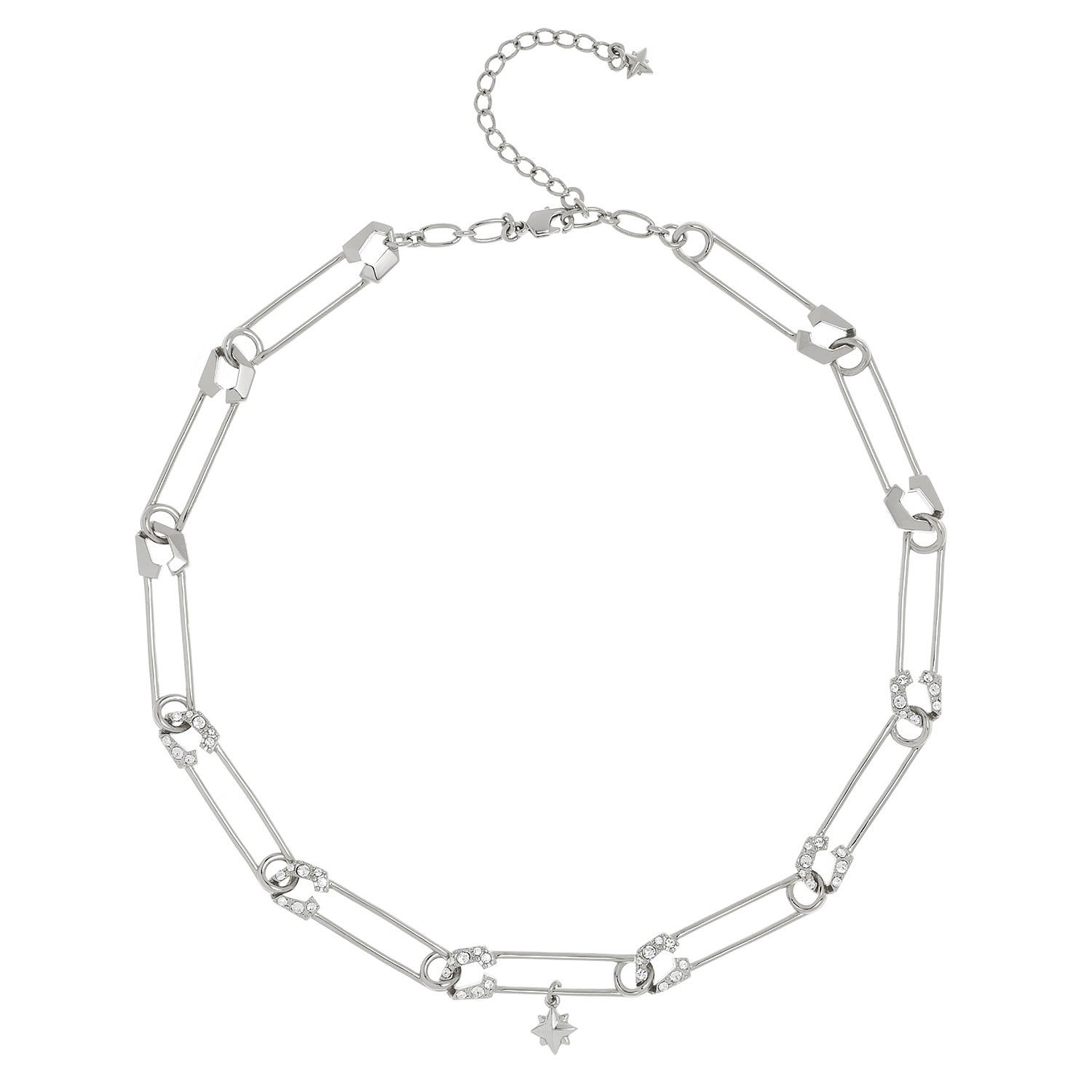 All We Are Irulan Crystal Pin Necklace