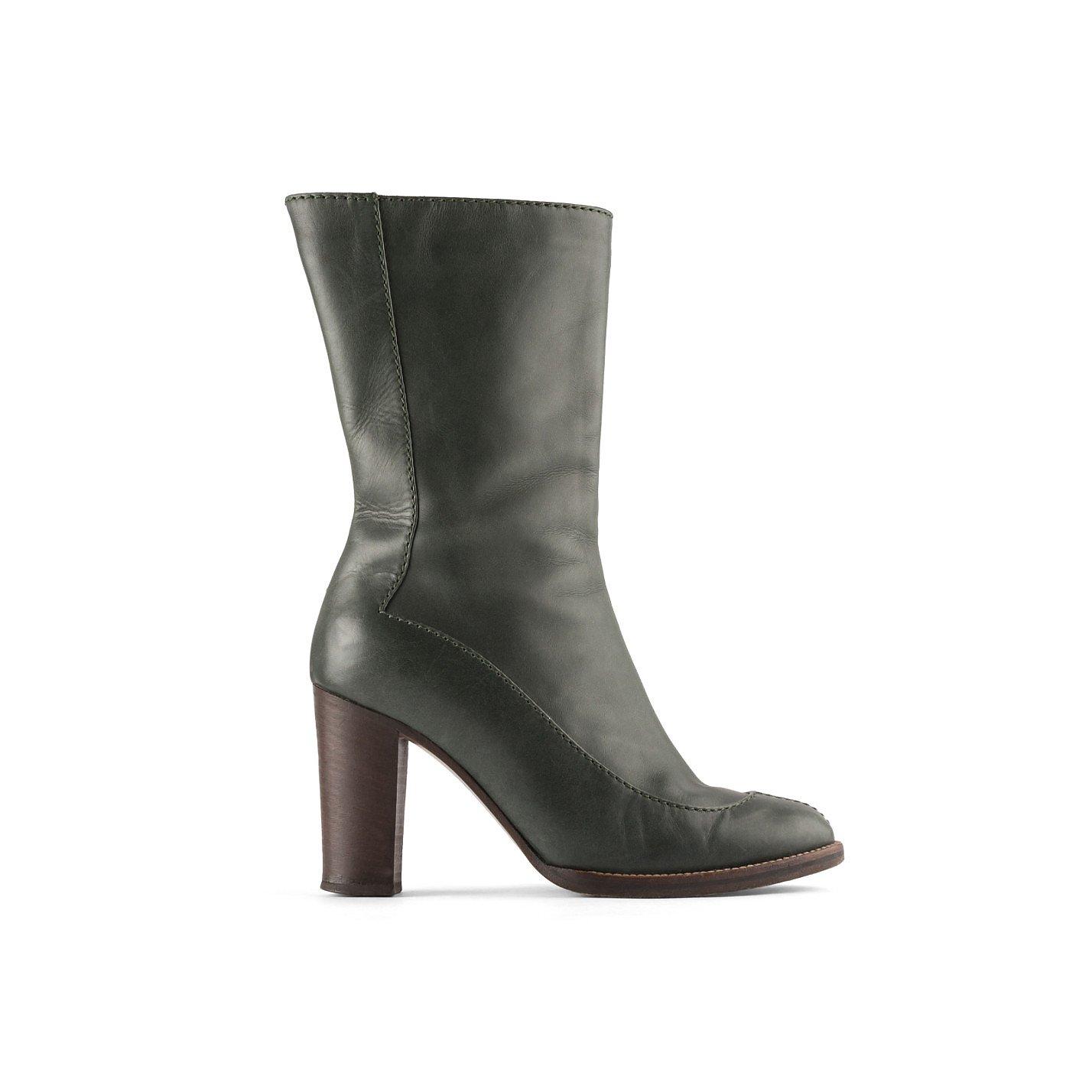 Marni Heeled Leather Boots
