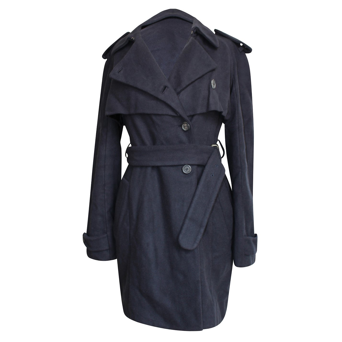 Miu Miu Belted Wool Coat