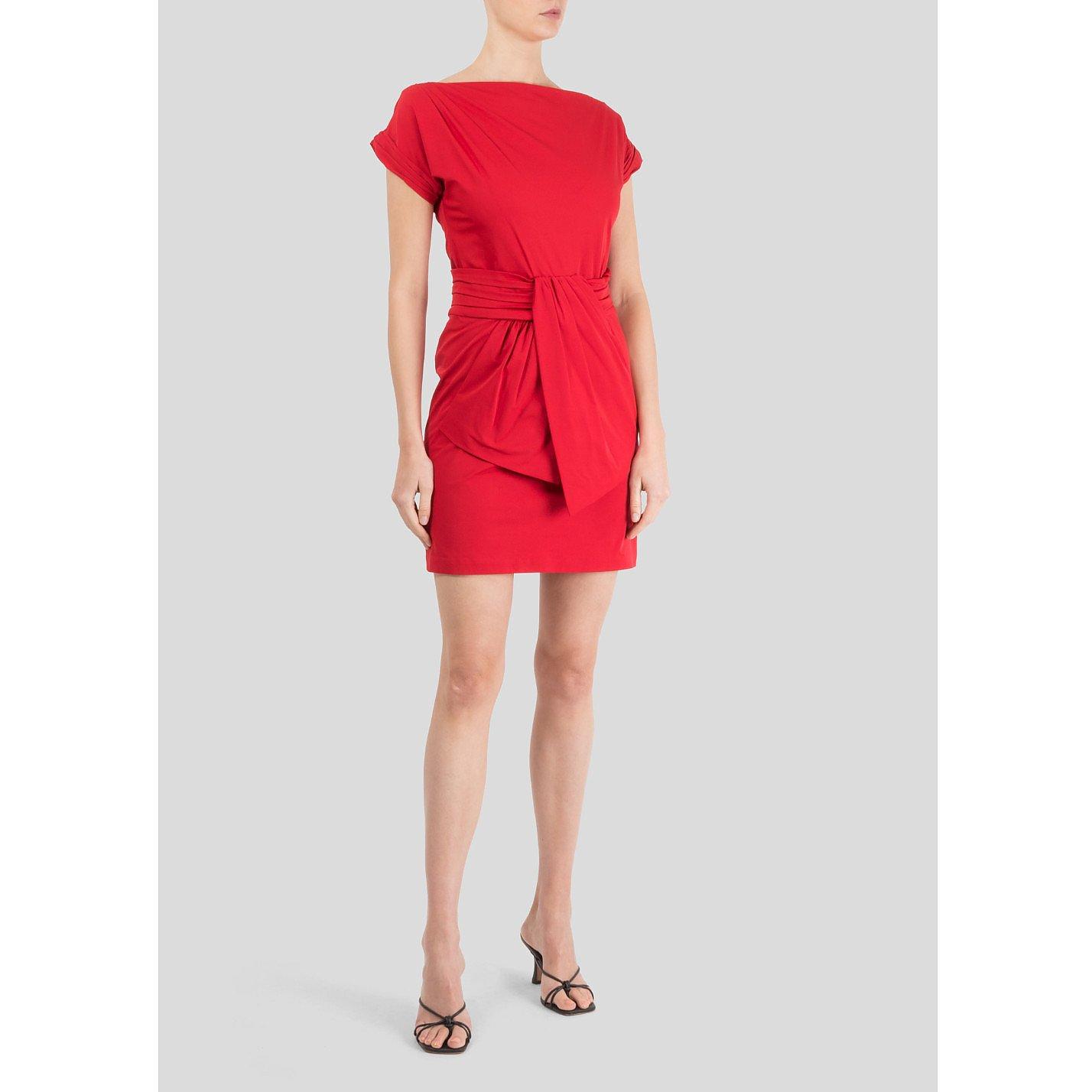 Diane von Furstenberg Gathered Mini Dress