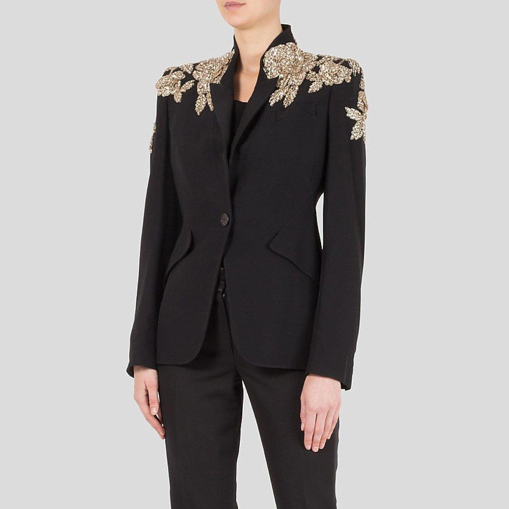 Alexander McQueen Collector's Edition Embellished Blazer