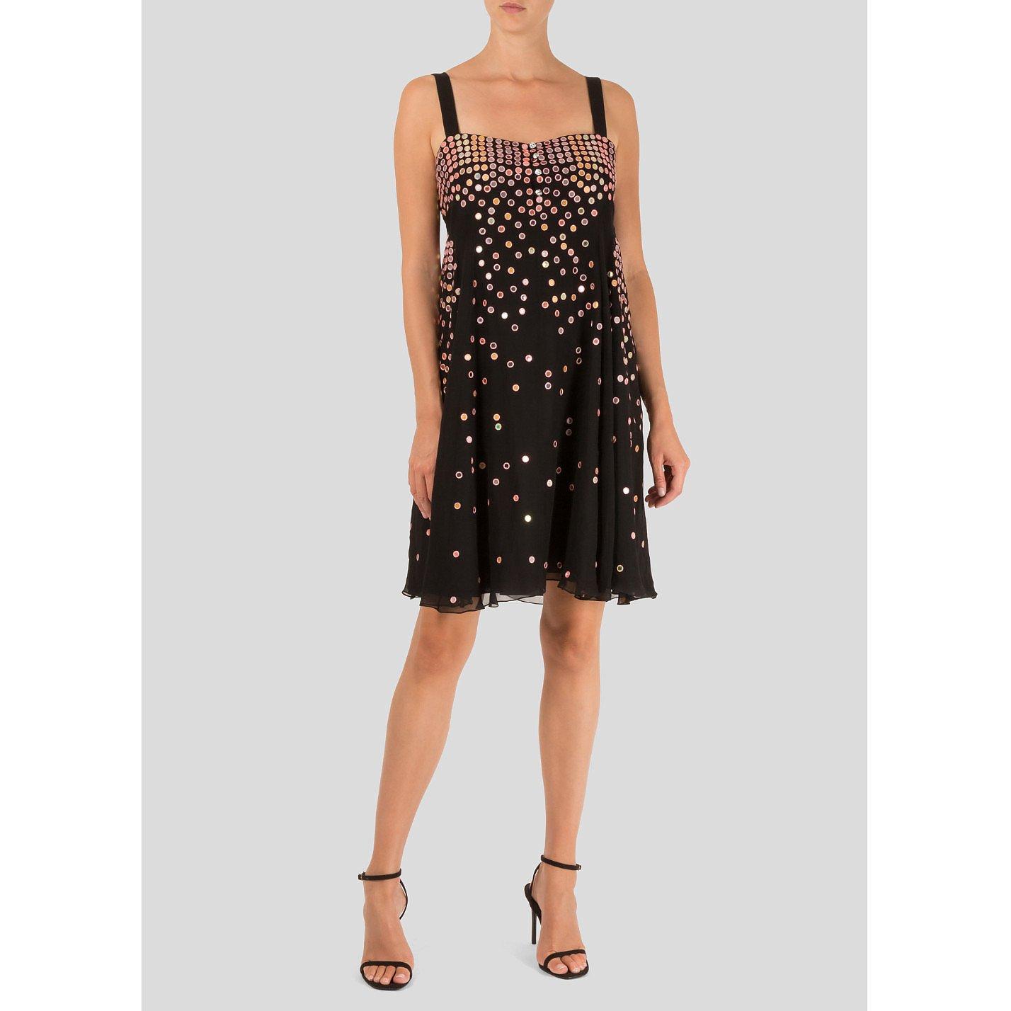 Matthew Williamson Sequin Embellished Mini Dress