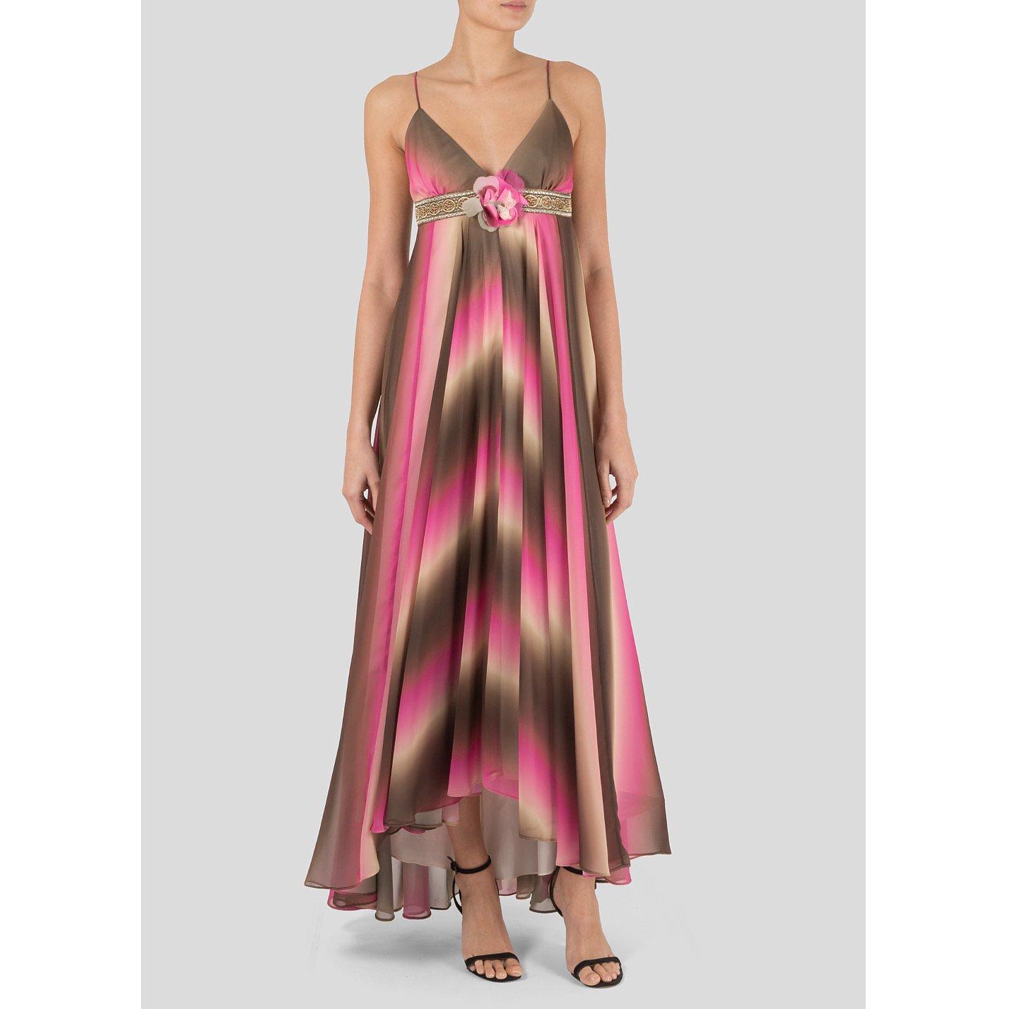 Matthew Williamson Sleeveless Printed Gown