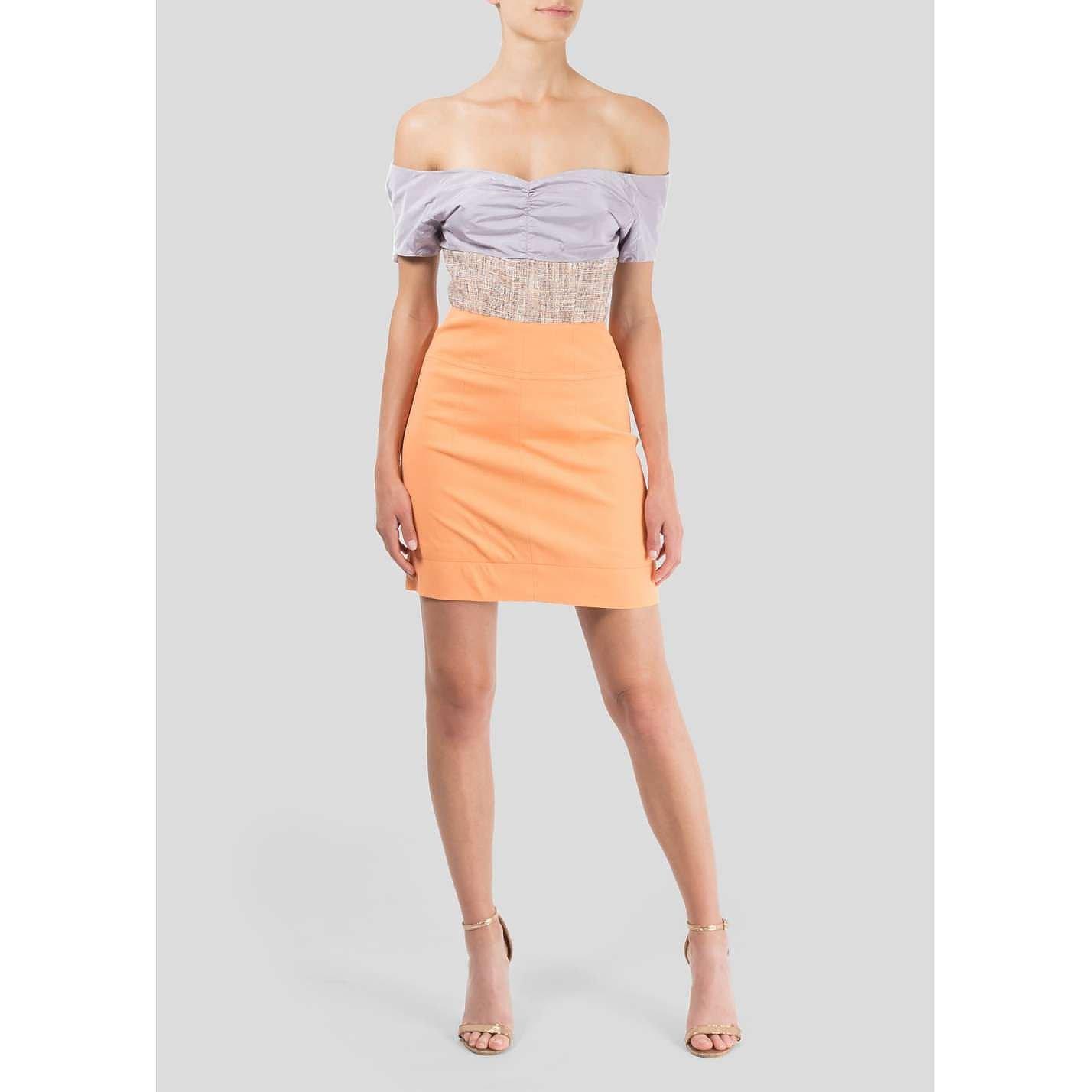 Carven Off the Shoulder Mini Dress