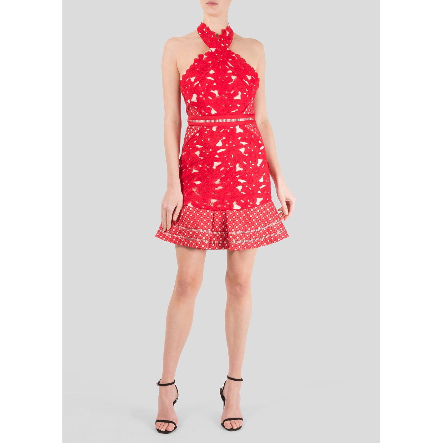 Three Floor Interlace Dress