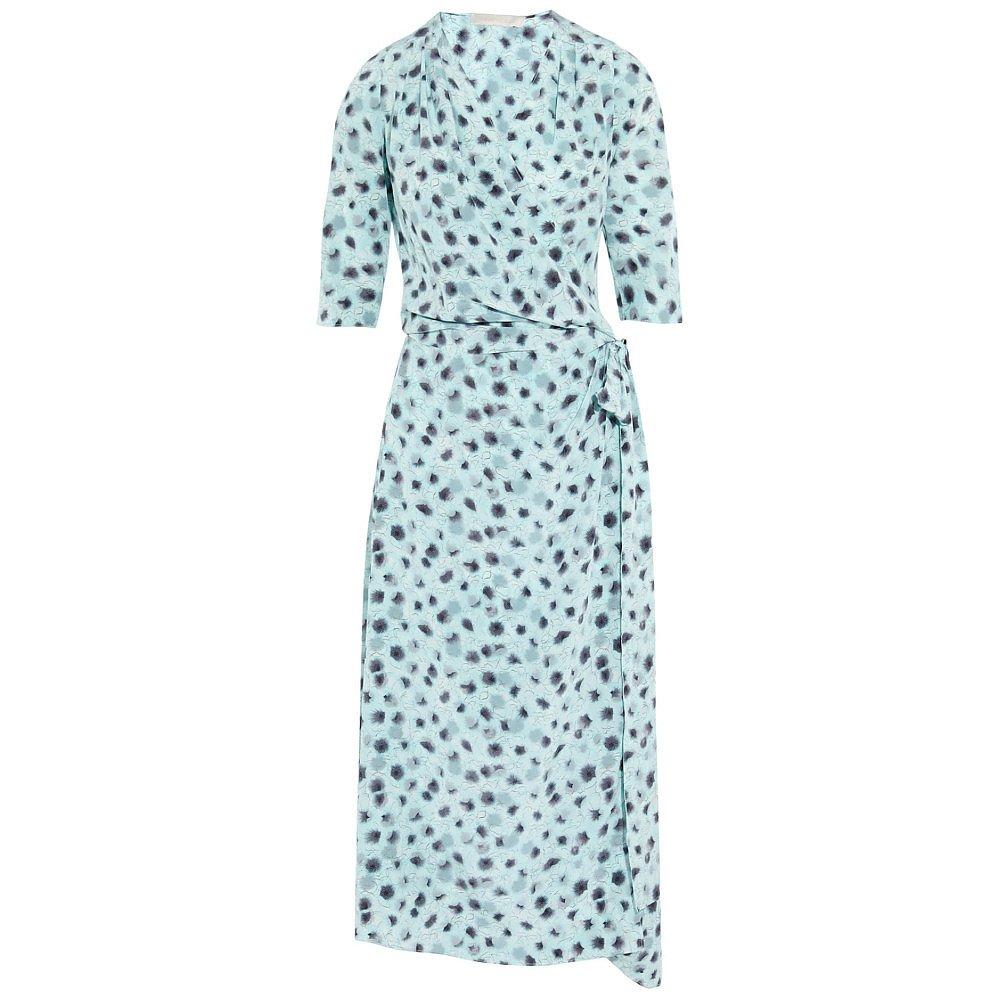 Vanessa Bruno Cima Floral Print Wrap Dress