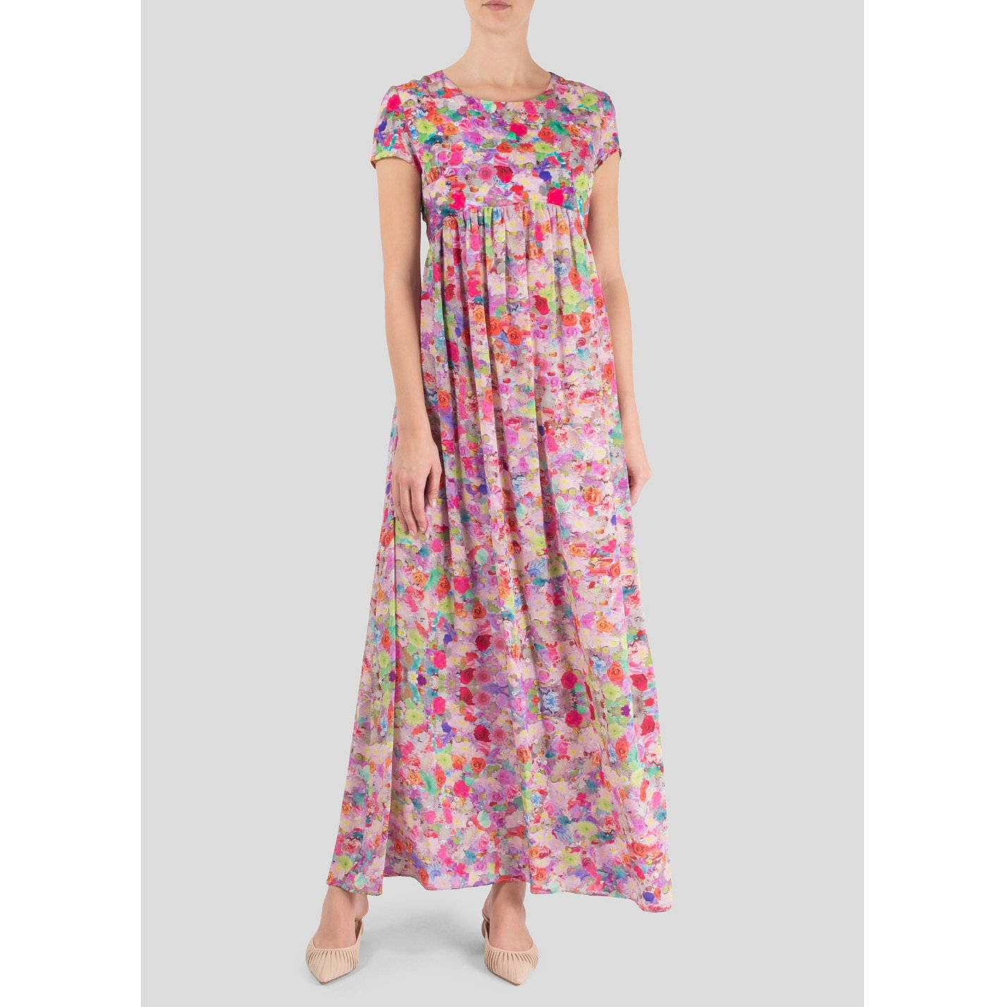 Tramp In Disguise Floral Maxi Dress