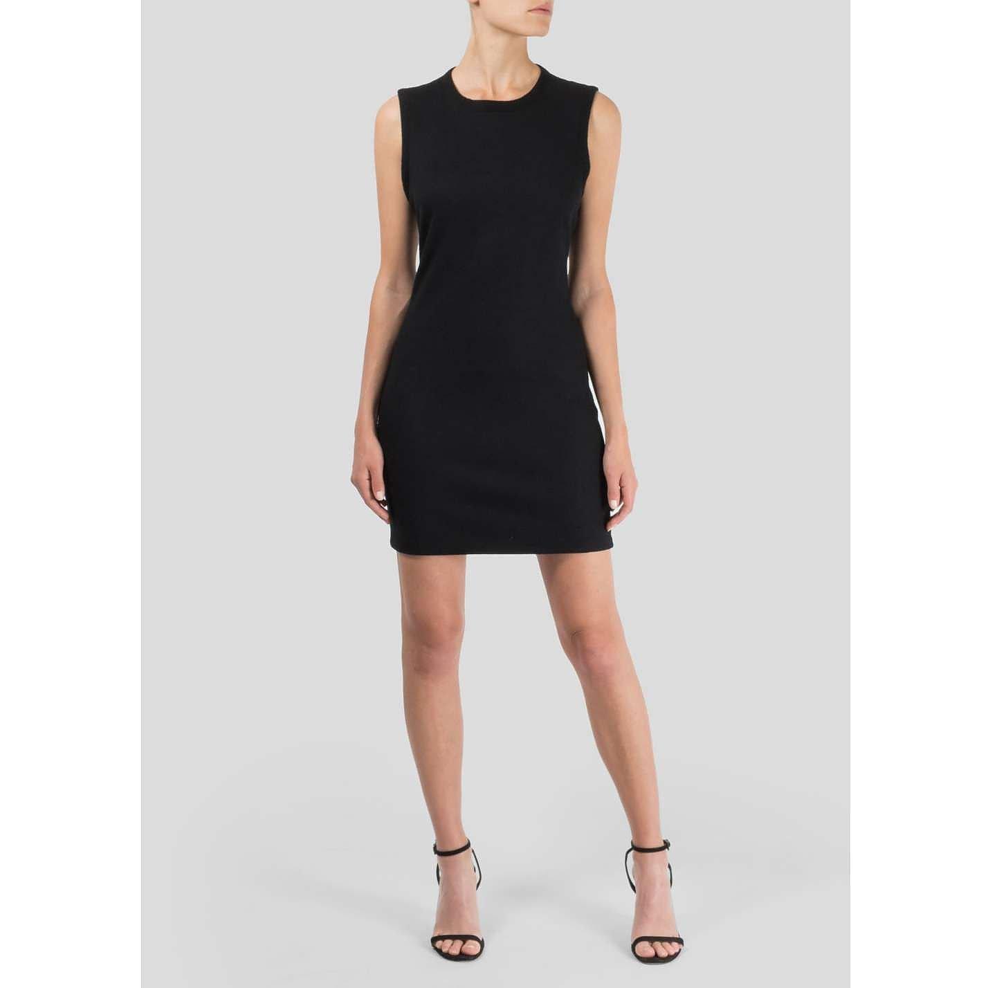 L'Agence Jersey Lace-Back Dress