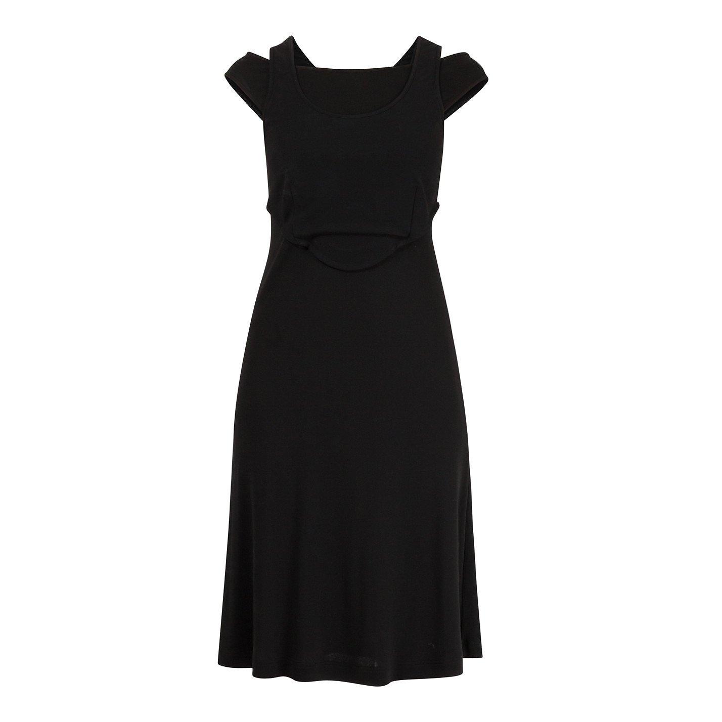 Derek Lam Sleeveless Layer-Effect Dress