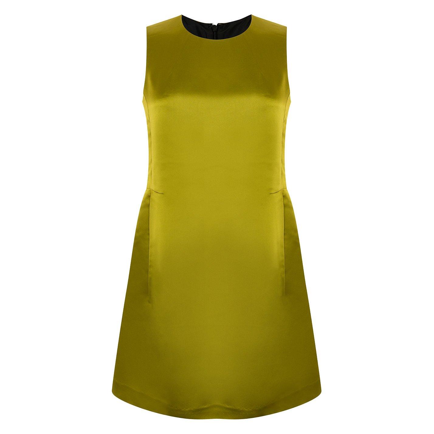 Vintage Metallic Mini Dress