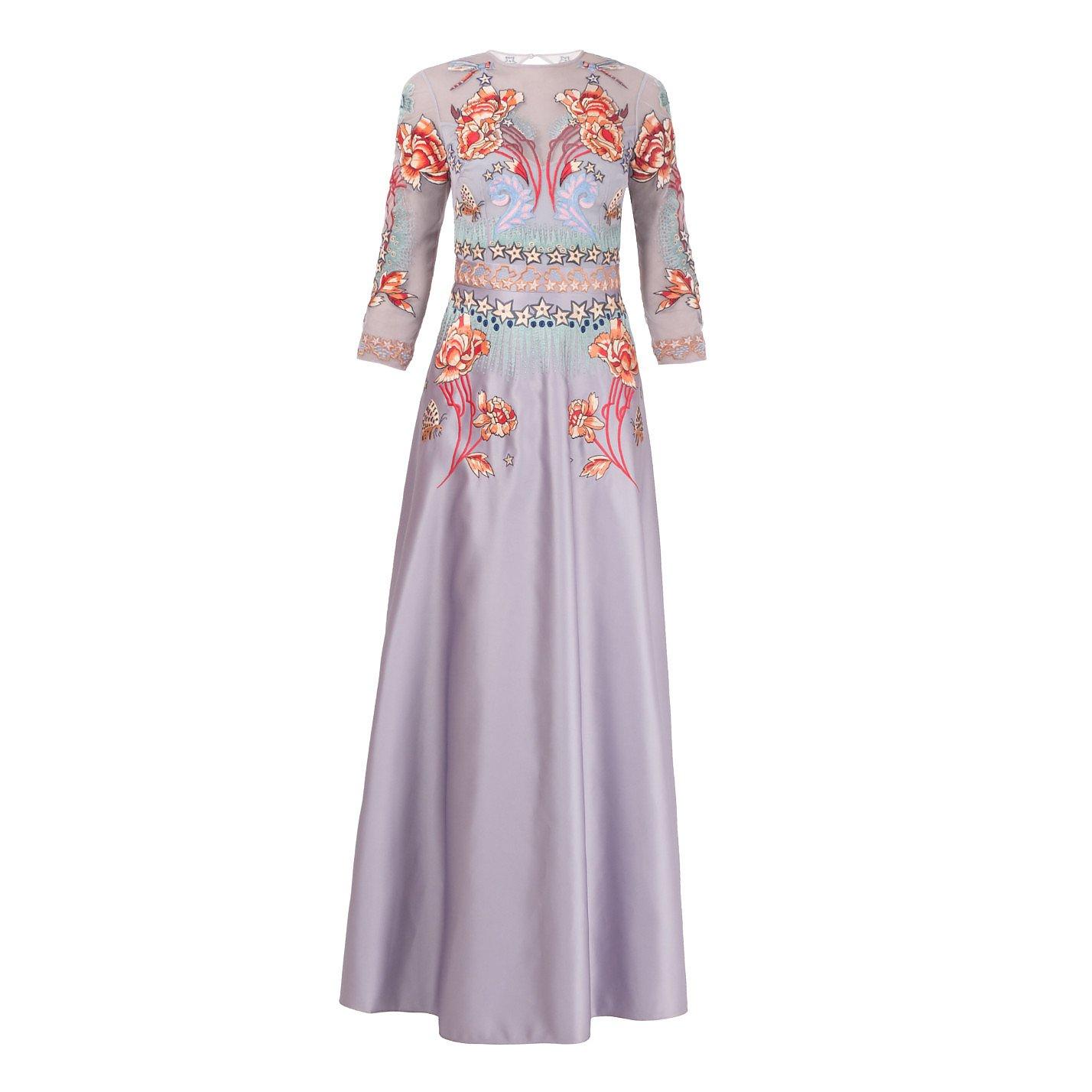 Temperley London Porcelain Flared Dress