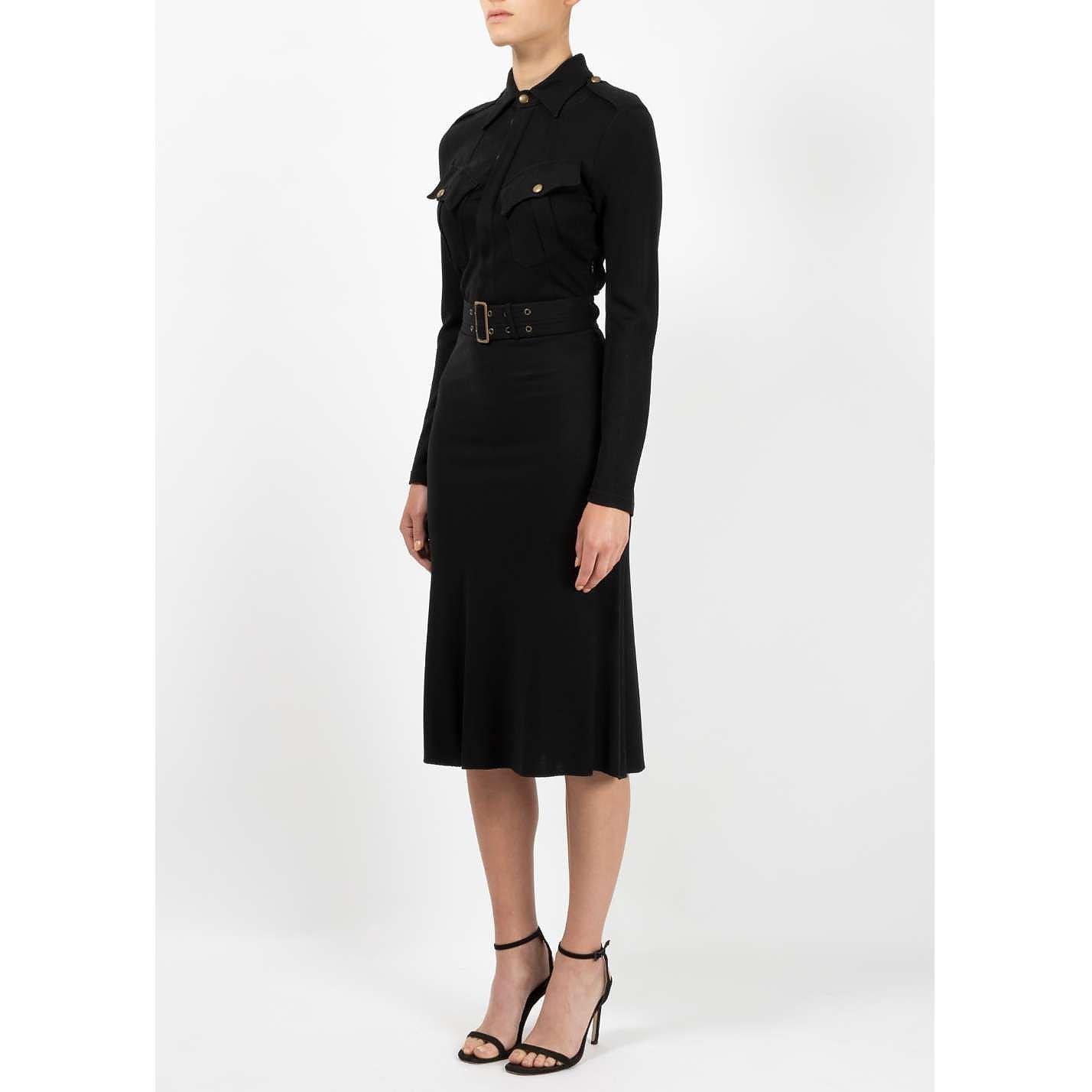 Jean Paul Gaultier Military Style Dress