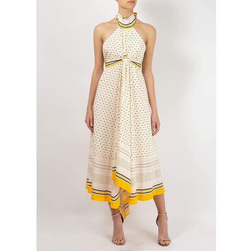 KITX Silk Halterneck Dress