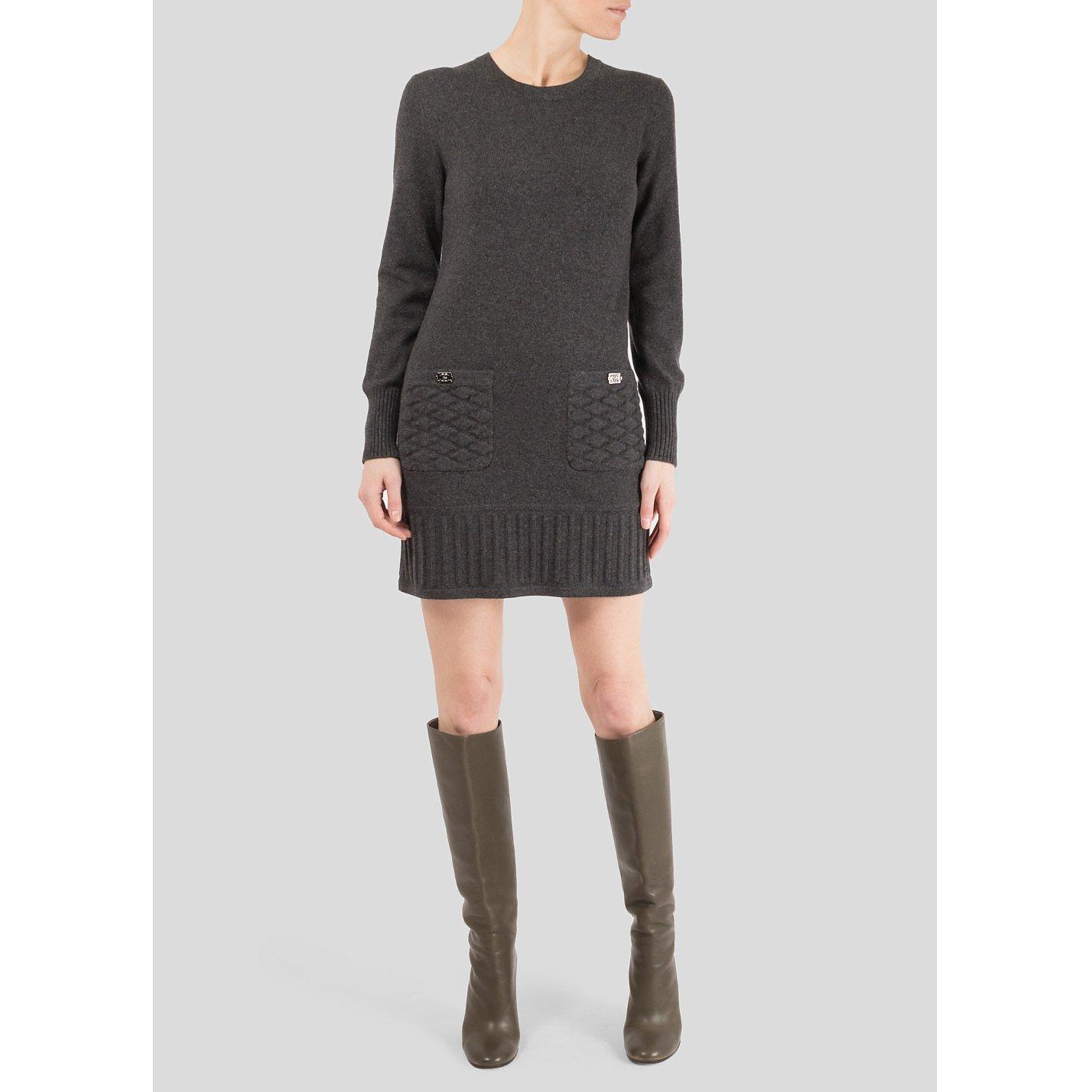 CHANEL Cashmere-Blend Mini Dress