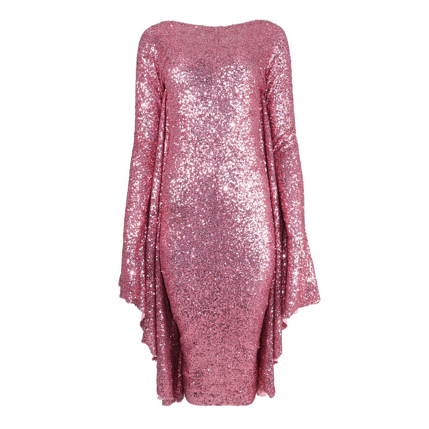 Paula Knorr Relief Sequin Dress