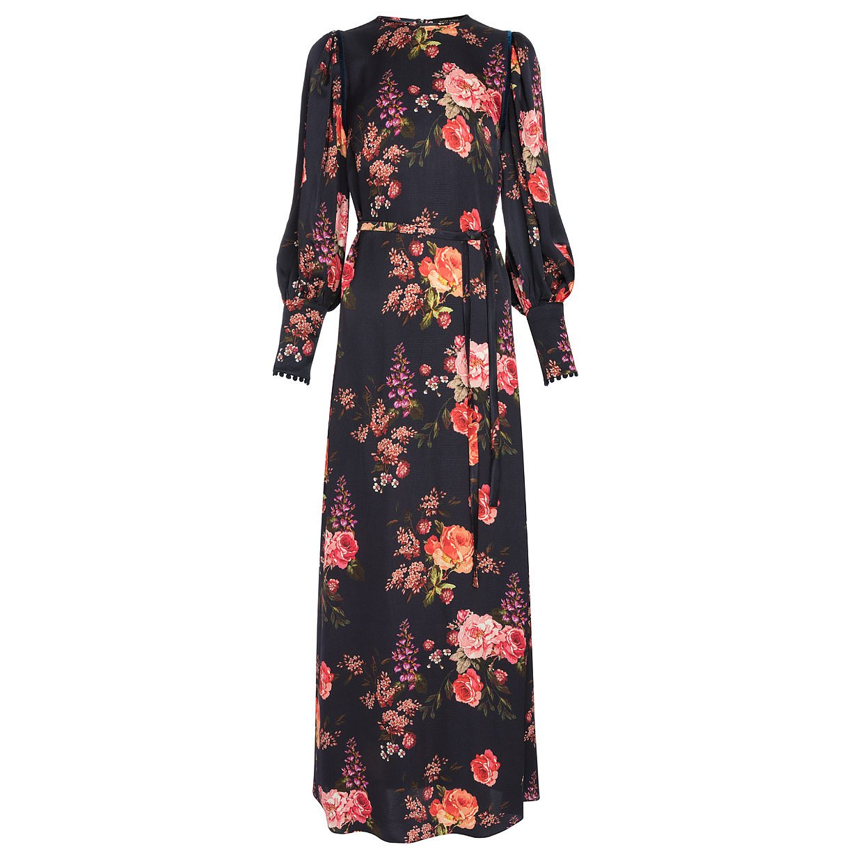 Mother of Pearl Zoe Long Floral Dress