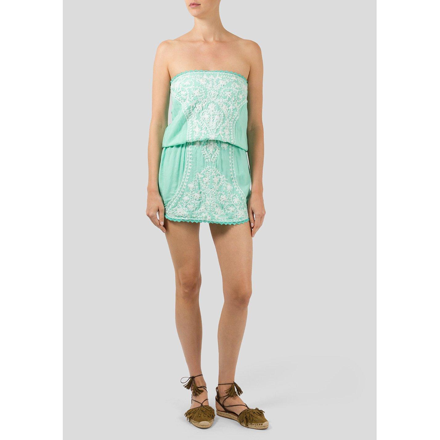 Melissa Odabash Embroidered Beach Dress