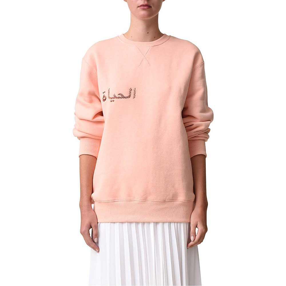 Noon By Noor Holly Brushed Back Fleece Sweater
