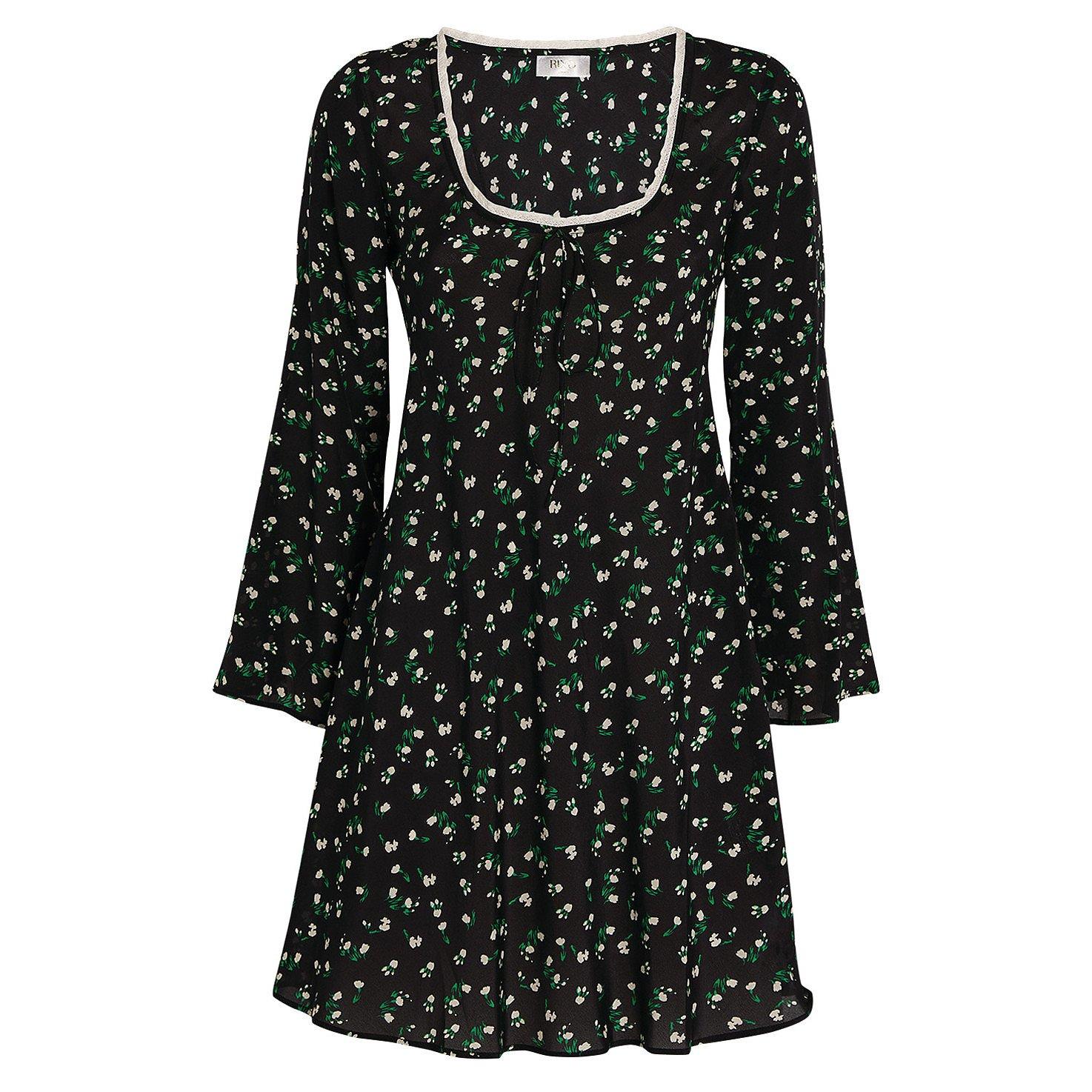 Rixo Celeste Silk Mini Dress