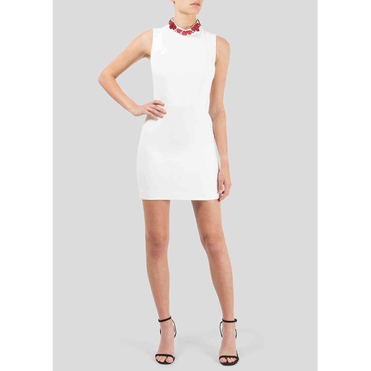 Alexander McQueen Embellished Mini Dress