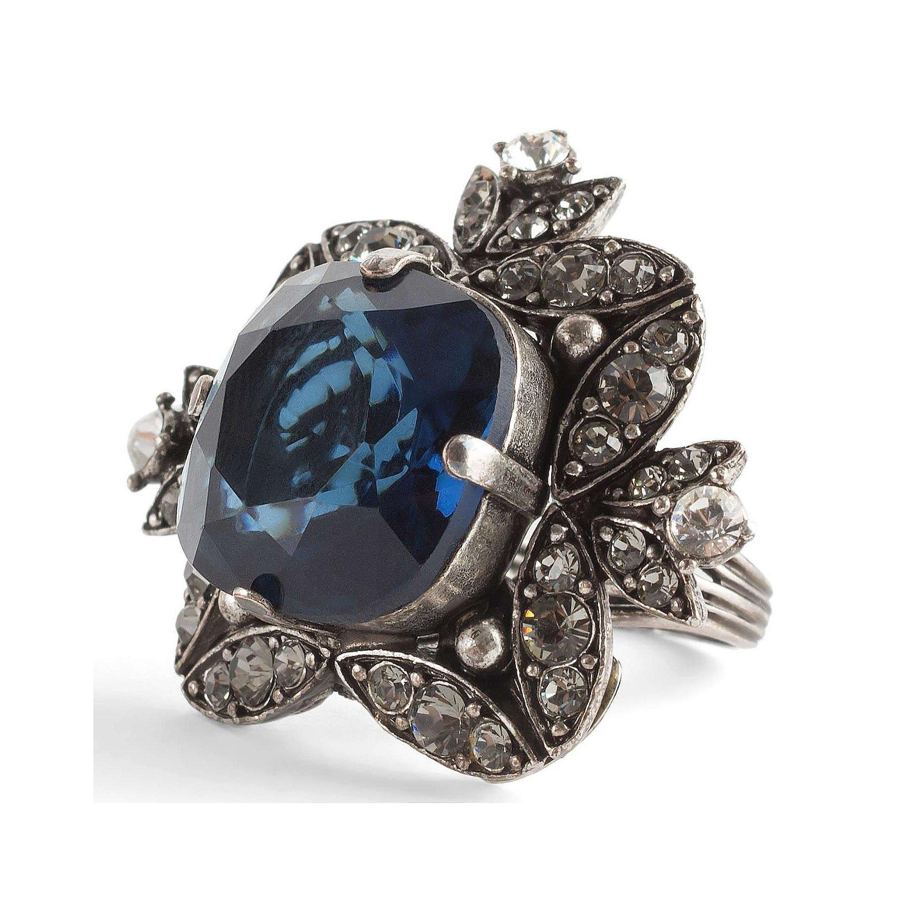 Lanvin Jewel Encrusted Ring