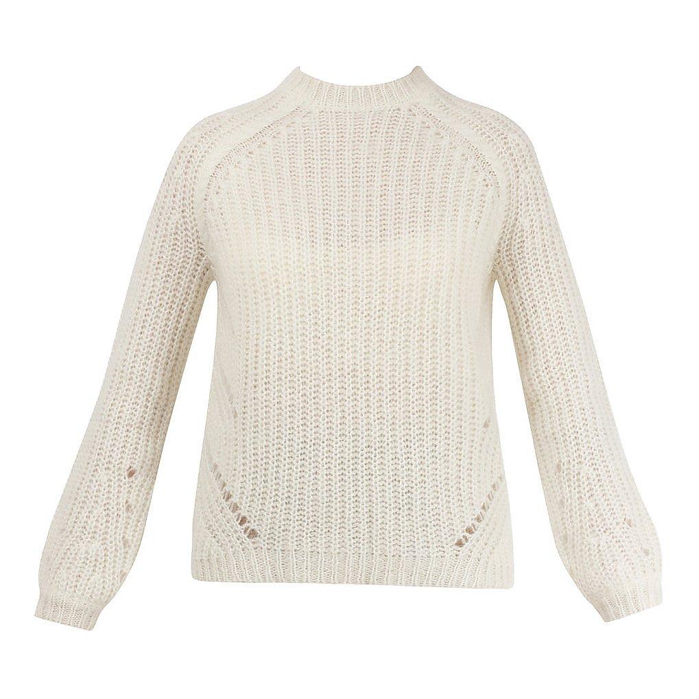 Le Maille Sezane Open Knit Sweater