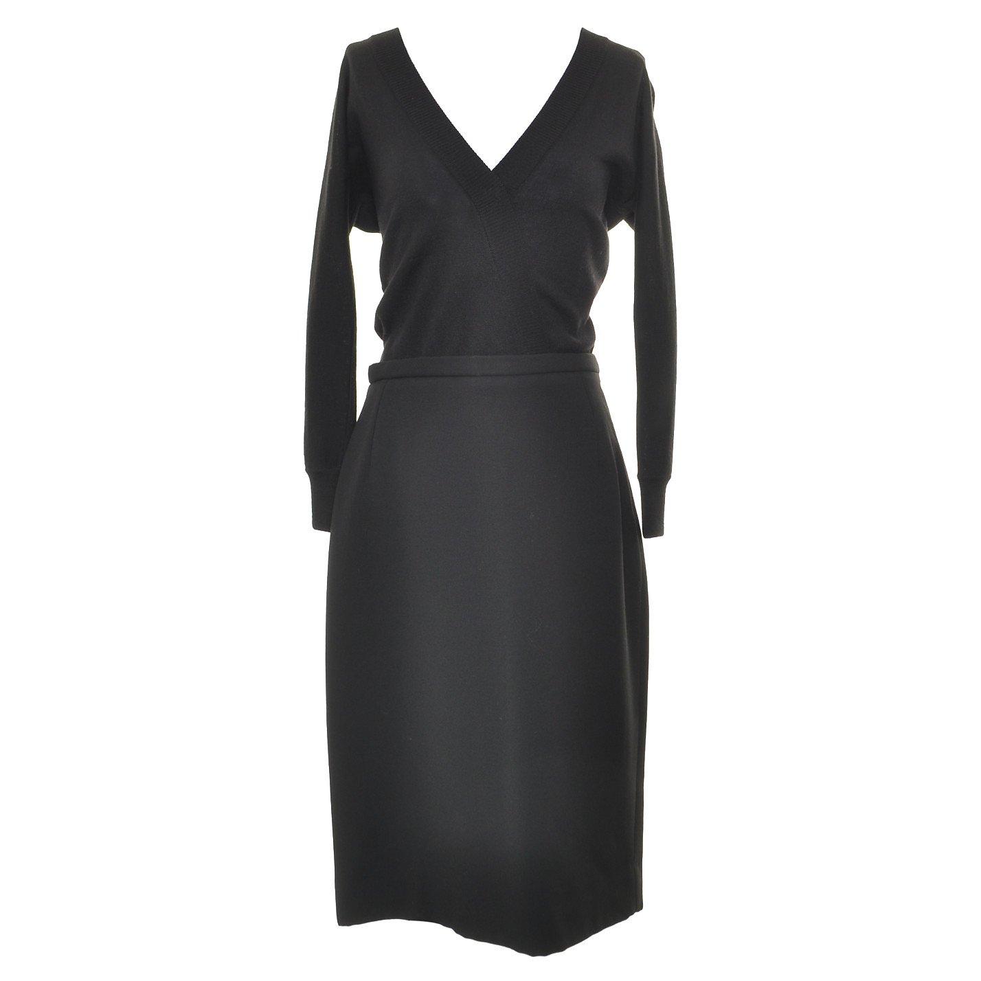 DOLCE & GABBANA Cardigan-Effect Knit Dress
