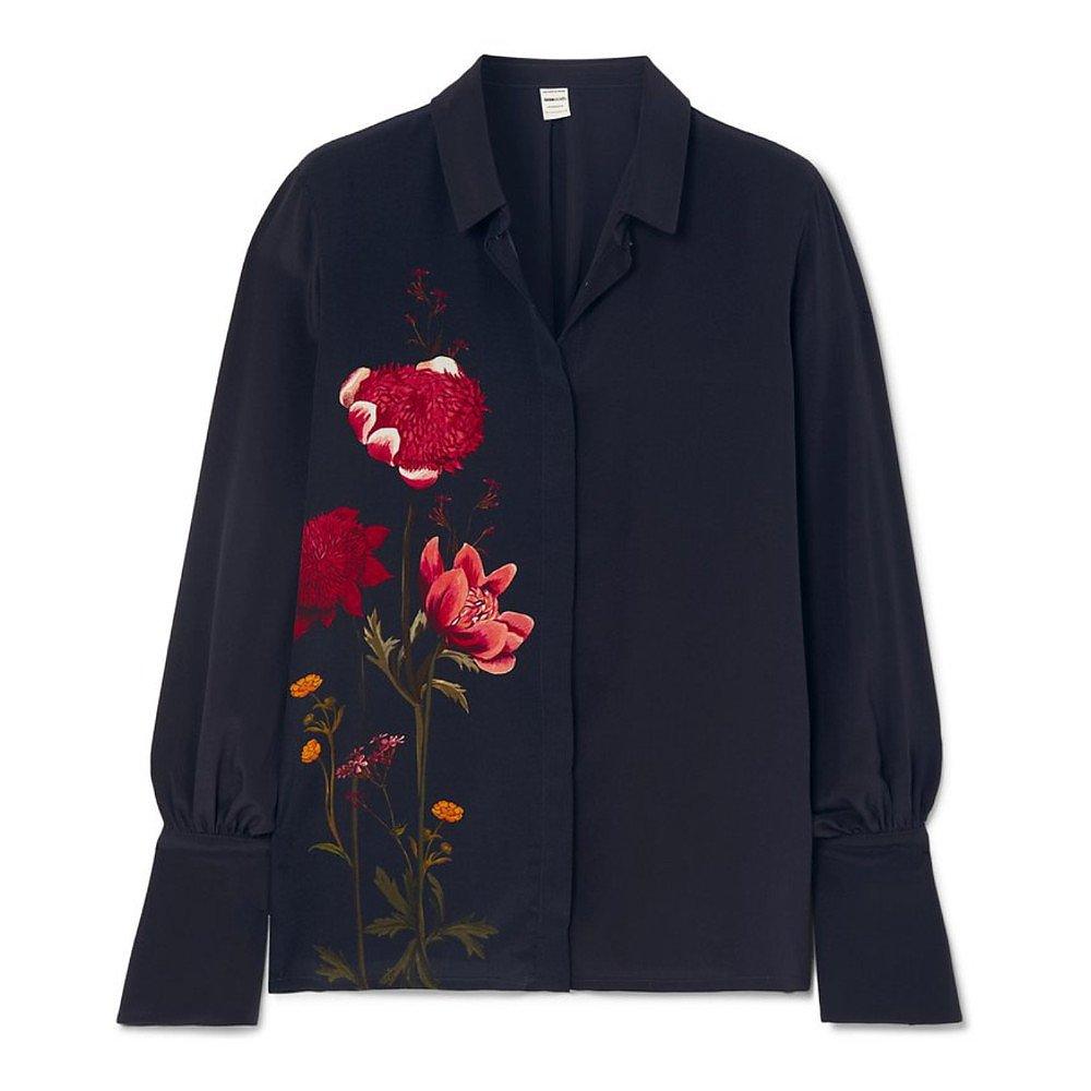 Mother of Pearl Miles Organic Silk Shirt