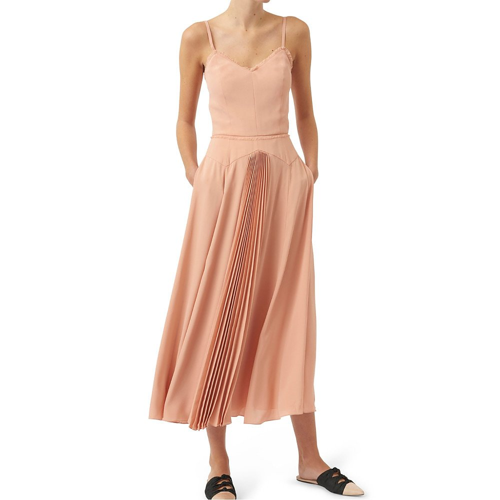 Noon By Noor Sunray Pleat Dress