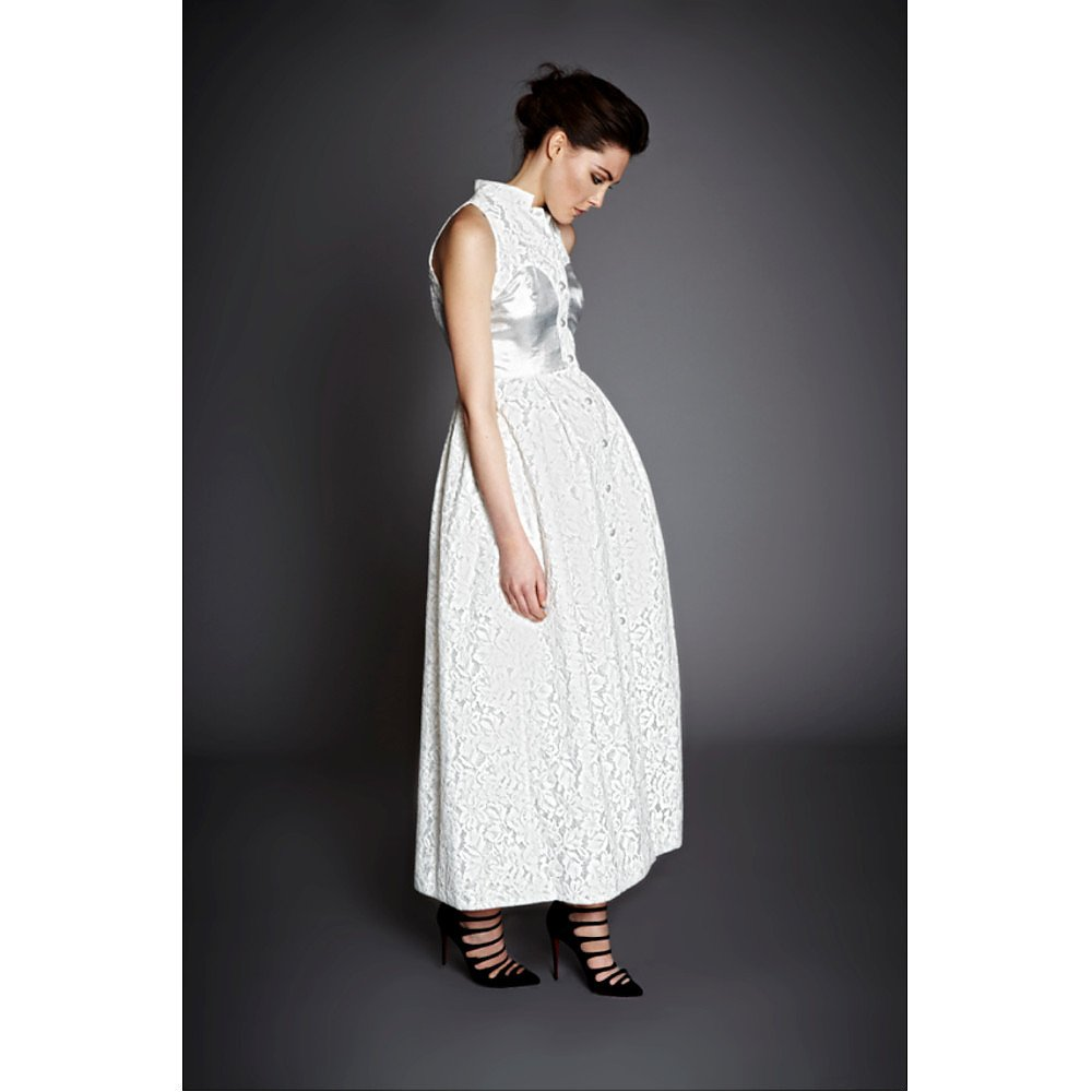 Charlie Brear Button Through Lace Dress