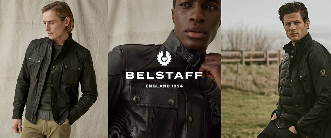 Introducing MENS with Belstaff - Iconic British brand Belstaff are embracing the future of fashion by joining us on the journey to fashion circularity.