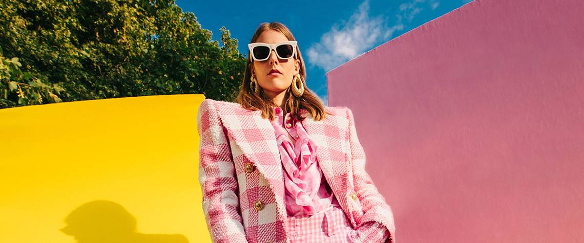 Going Somewhere? - Whether your on a rooftop or in a park, we've got you covered. Shop the edit of bold and bright pieces you've been longing to wear
